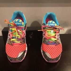 ASICS multi color sneakers 👟